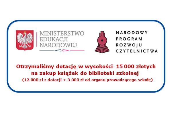 Ilustracja do wpisu: Wsparcie finansowe na zakup książek do biblioteki szkolnej