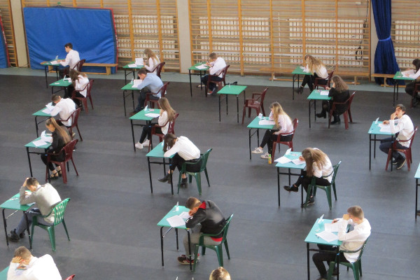 Ilustracja do wpisu: Egzaminy próbne